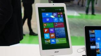 Acer Iconia Tab 8W erscheint Ende November für 149€ (Video)