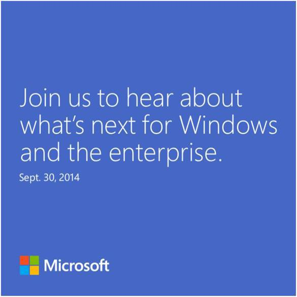 Windows 9: Microsoft bestätigt Präsentation am 30. September