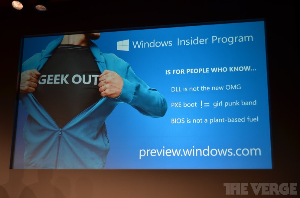 windows insider programm tv