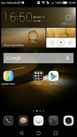 Mate 7 Homescreen