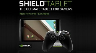 Nvidia Shield Tablet: Android 5.0.1 Update &amp&#x3B; Controller kostenlos