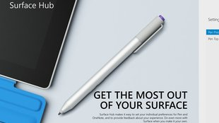 Surface Pro 3: Surface Hub App erlaubt Stylus-Konfiguration