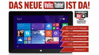 TrekStor SurfTab Wintron 10.1 Volks-Tablet mit Windows 8.1 für 199€ (Video)