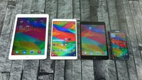 Benchmark: iPad Air 2 vs. iPad Mini 3 vs. Galaxy Tab S 8.4 vs. Note 4 (Video)