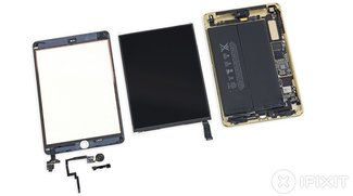 iPad mini 3 erreicht 2 von 10 Punkten im iFixit Teardown