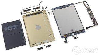 iPad Air 2 erreicht 2 von 10 Punkten im iFixit Teardown