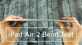 iPad Air 2 im Bend Test (Videos)