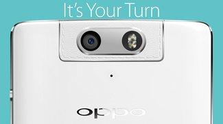 Oppo N3: Erstes offizielles Bild der drehbaren Kamera