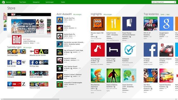 Windows 10: Windows Store bietet bald mehr als Modern Apps