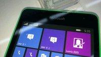 Microsoft Lumia 535 zeigt sich auf ersten Fotos