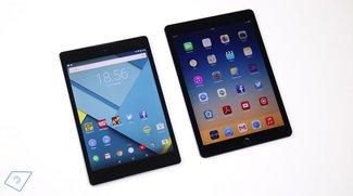 Vergleich: Google Nexus 9 vs. Apple iPad Air 2 (Video)