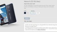 Nexus 6 im deutschen Play Store für ab 649€ gelistet