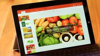 Microsoft Touch-Office auf dem Surface Pro 3 (Video)