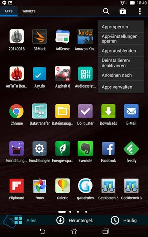 Asus MemoPad 7 ME572CL Software-5