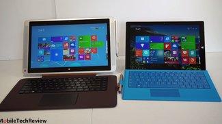 HP Envy X2 13 und Surface Pro 3 im Vergleich (Video)