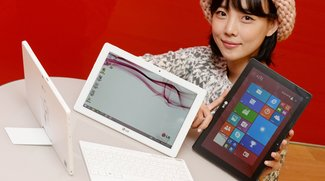 LG Tab Book Duo: 10,1 Zoll Windows 8.1 Tablet vorgestellt