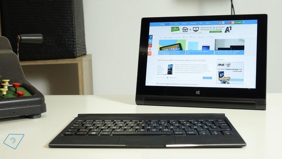 Lenovo Yoga Tablet 2 10 mit Windows Test-3