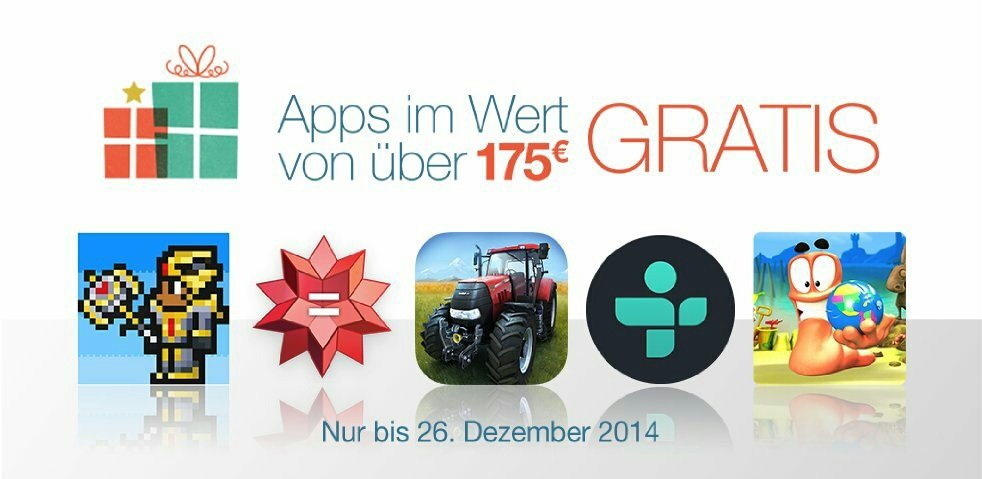 Amazon App Shop: 40 Apps &amp&#x3B; Spiele im Wert von 175€ gratis