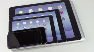 iPad Air Plus mit 12,2 Zoll im Größenvergleich (Video)