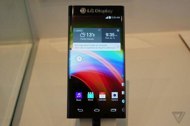 LG Dual-Edge-Display: Weitere Bilder &amp&#x3B; Informationen (CES 2015)