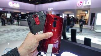 LG G Flex 2 mit P-OLED-Display im Akku-Test
