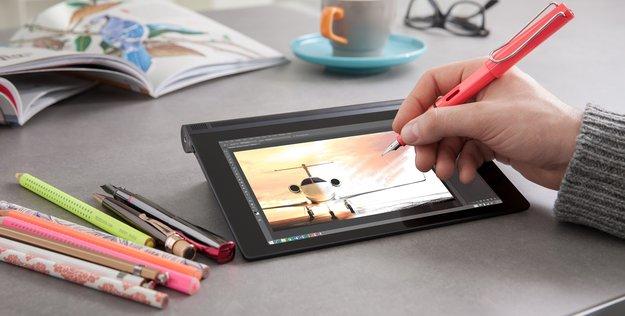 Lenovo Yoga Tablet 2 AnyPen: Jeder Stift wird zum Stylus (CES 2015)