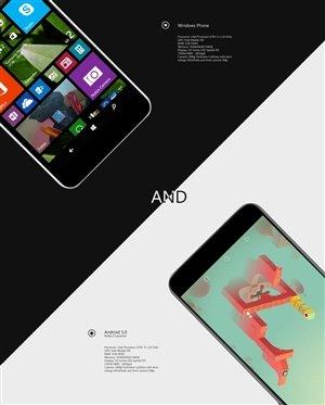 Nokia C1 Android und Windows Phone
