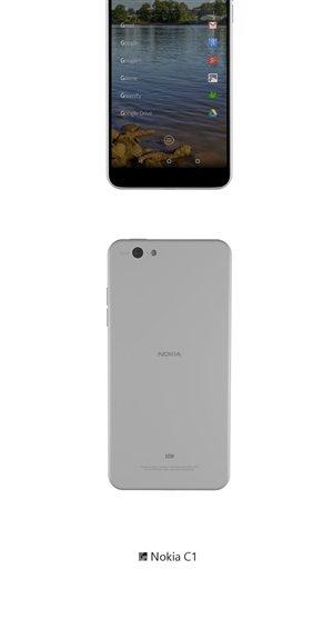 Nokia C1 Design