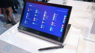 Toshiba Portege Z20t: Erster Eindruck im Hands-On Video (CES 2015)