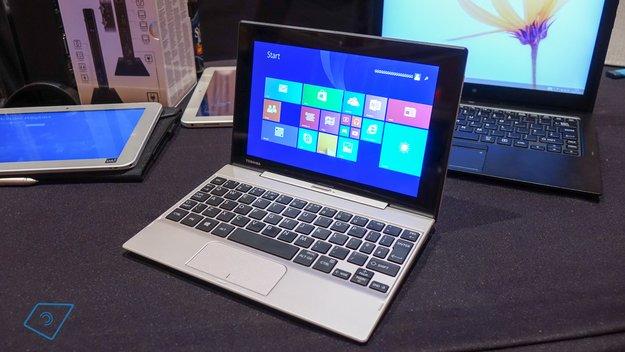 Toshiba Satellite Click Mini für 299€ gelistet (Video)