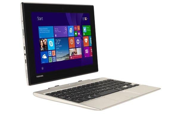 Toshiba Satellite Click Mini 8,9 Zoll Windows-Tablet vorgestellt (CES 2015)