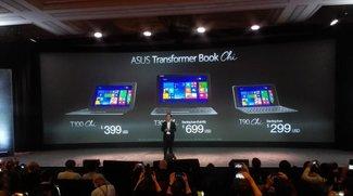 Asus Transformer Book T90 Chi, T100 Chi &amp&#x3B; T300 Chi vorgestellt (CES 2015)