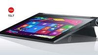 Lenovo Yoga Tablet 2 mit 8 Zoll und Windows 8.1 endlich erhältlich