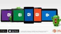 Microsoft Office für Android Tablets & Outlook für iOS veröffentlicht