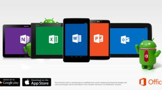 Microsoft Office für Android Tablets &amp&#x3B; Outlook für iOS veröffentlicht