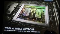 Nvidia Tegra X1: 8 Kern 64-Bit-Prozessor mit Maxwell-GPU (CES 2015)