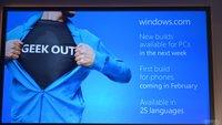 Windows 10 Insider: Neue Build ab kommender Woche und auf Deutsch