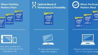 Intel kündigt neue Intel Atom Prozessoren x3, x5, x7 an