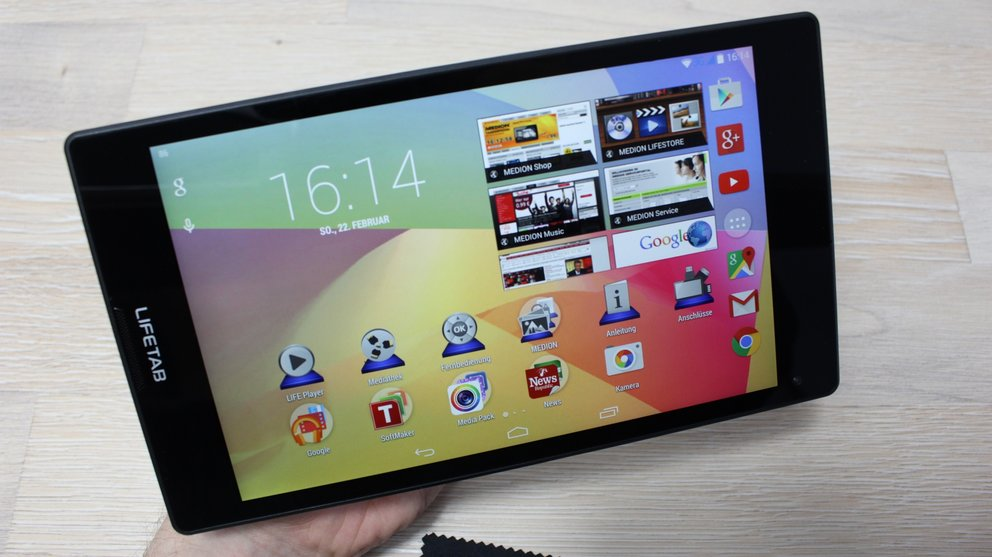 Medion Lifetab S8311 Test Display 2
