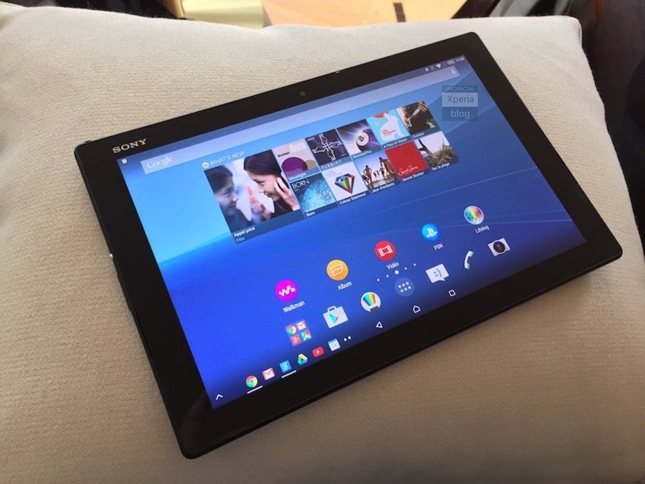 Sony Xperia Z4 Tablet &amp&#x3B; Xperia M4 Aqua auf ersten Fotos