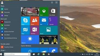 Windows 10 Technical Preview Update bringt einige Fehlerbehebungen