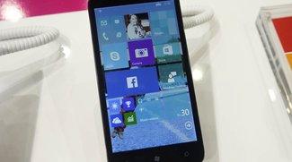 Alcatel One Touch Pixi 3 mit Windows 10 auf dem MWC 2015 gesichtet