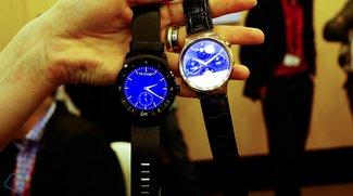 Huawei Watch und LG G Watch R im Vergleich (Video)
