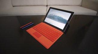 Microsoft Surface 3 und Zubehör in ersten Hands-On Videos