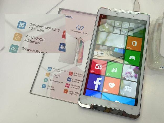 Ramos Q7 mit 7 Zoll und Windows Phone 8.1 aufgetaucht