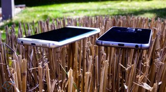 Samsung Galaxy S6 &amp&#x3B; S6 Edge: Clear View Cover soll Display zerkratzen