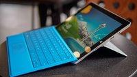 Microsoft Surface 3: Rhythmischer Werbespot kündigt Verkaufsstart an
