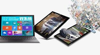 Teclast X1 Pro mit Intel Core M, 12.2 Zoll &amp&#x3B; LTE vorgestellt