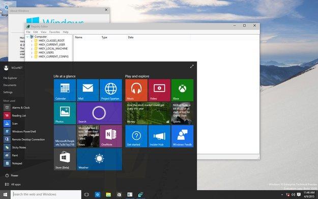 Windows 10 Build 10056 Screenshots zeigen einige Anpassungen am Design