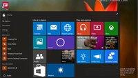 Windows 10 Build 10064 auf ersten Screenshots